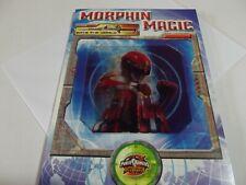 Save The World...Morphin Magic ..Power Rangers.... Birthday Greetings Card