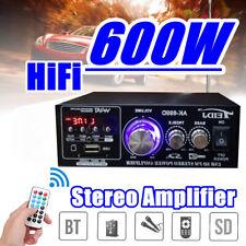 600 W HIFI Audio Amplificateur Stéréo Bass radio FM voiture maison SD/U Disk Mini