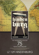 Ghana- Hindenburg Disaster 75th Anniversary Stamp- Souvenir Sheet MNH