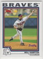 2004 Topps Baseball Atlanta Braves Team Set