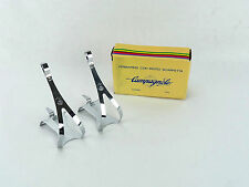 Campagnolo Nuovo Record Toe Clips Large Steel Vintage Road Bike Shield Nos