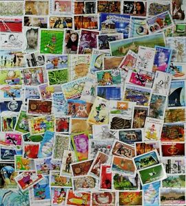 FRANCE Wonderful collection, 400 different comm. stamps mainly from 2007 to 2018
