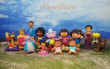 DORA THE EXPLORER Friends Set 13 Figure Model Cake Topper Decoration K364_Set13