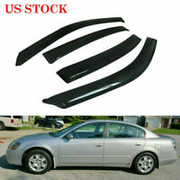 Window Vent Visors Wind Deflector Shade For Nissan Altima 2002-2006 2.5-S 3.5-SL