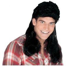 Adult Super Mullet Man Costume Wig