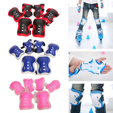 Kids Children Bike Knee Pads and Elbow Pads with Wrist Guards Protective Gear Us
