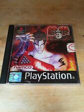 PlayStation TEKKEN 3 game + instructions 11+ 1-2 players 1998 Namco good conditi