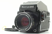 [Near MINT] Mamiya M645 1000S Sekor C 80mm f/2.8 AE Prism Finder From JAPAN