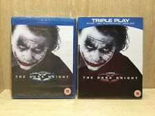 The Dark Knight Blu Ray New & Sealed Triple play