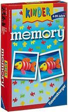 Ravensburger 23103 Kinder Memory 24 Bildpaare Mitbringspiel GedäChtnisspiel