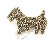 WESTIE DOG SILVER CRYSTAL LADIES BROOCH Womens Animal Novelty Jewellery Gift NEW