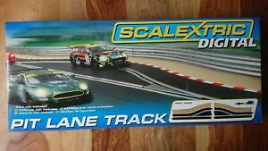 Scalextric Digital C7015 Pit Lane Track Right Hand NEW