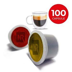 100 capsule cialde caffe Compatibili UNO SYSTEM aroma FORTISSIMO e PURO ARABICA