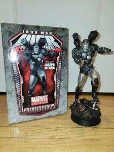 WAR MACHINE Polystone Statue Bowen Designs Iron Man Joseph Menna Marvel Sample