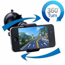 360° Universal Windshield Phone Mount Car Holder for GPS IPhone mobile Samsung