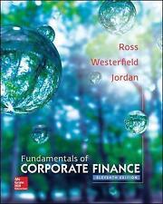 Fundamentals of Corporate Finance by Ross (Hardback, 2015)