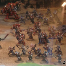 Chaos Space Marines Armee / Heretic / aus Dark Vengeance Box Set / Warhammer 40k