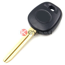 Uncut Ignition Chipped Key with Transponder Chip Blank G For Toyota Camry 2011+