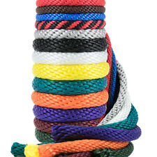 Golberg Solid Braid 1/4-inch Utility Rope Various Sizes and Colors