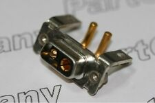 DEM-2PK2S ITT Cannon 40A High Power 2 Connector Right Angle PCB Receptacle