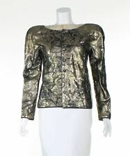 GIORGIO ARMANI Gold Vintage Evening Jacket, UK 10 US 6 EU 38