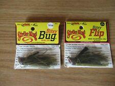 2 Strike King Jig Bitsy Flip Bug Finesse 1/4oz Green Crawfish BFJ14-13 BBJ14-13