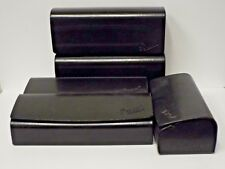 Lot of 5 PERSOL Original Sunglasses Black Hard Shell Case