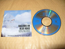 Bacchus On Blue Ridge Fennell/Tokyo Kosei Wind Orchestra cd Japan V Rare 1989 Ex