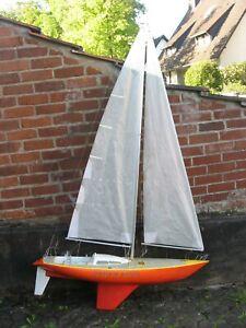 Robbe  RARITÄT Segelboot SMARAGD aus Modellbaunachlaß mit RC Teilen