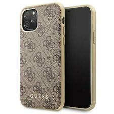 Genuine Guess 4G Collection Impact Case Cover for iPhone 11 Pro in Brown