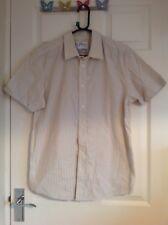 Genuine Levis Striped Levi Shirt - Medium