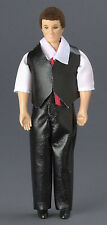 Dollhouse Miniature Doll Father Vinyl Town Square #00008 1:12 Scale
