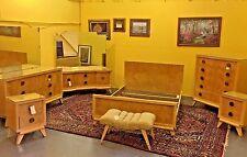 Mid Century Modern Bedroom Suite Vintage Furniture Set