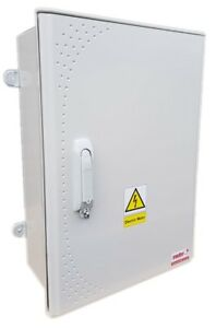 GRP cabinet Electric Meter Box - Super Strong Meter Box - W 461 x H 646 x D 220