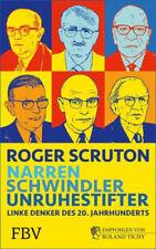 Narren, Schwindler, Unruhestifter Roger Scruton Gebundenes Buch Deutsch