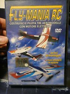 DVD FLY-MANIA RC - COSTRUISCI E PILOTA TRE AEROMODELLI CON MOTORE ELETTRICO