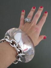 Vintage Danish Monies Gerda Lynggaard Cuff Lucite Bangle Bracelet Signed