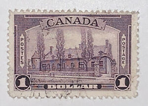 Travelstamps: Canada Stamps Sc#245 Chateau de Ramezay Montreal 1938 Used