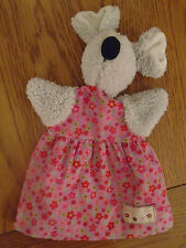 Jellycat Floral friends mouse comforter / hand puppet