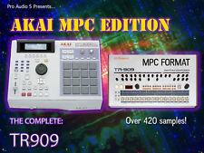 TR909 kits de batería-Akai MPC 2000XL Formato Zip Disco 909 patadas redoblantes sombreros muestras