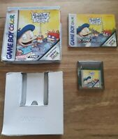 Vintage Nintendo Gameboy Colour Rugrats in Paris the Movie game (2007) Boxed