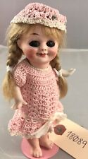 "6"" Antique German All Bisque Armand Marseilles 323 Googly Doll! Adorable! 18089"