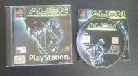 PS1 Alien Resurrection Game Complete Manual Boxed Playstation 1 PAL