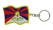 llaveros coche moto keychain key chain bandera TIBET