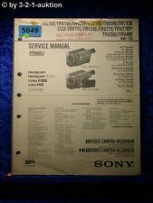 Sony service manual CCD tr515e tr415e tr425e tr713e trv26e trv27e trv46e (#5649)