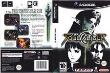Soulcalibur 2 Soul Calibur II NGC GAME PAL *VGWC!* + Warranty