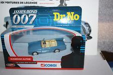 CORGI The ultimate James Bond 007 Collection Sunbeam Alpine Dr NO