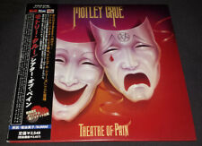 Motley Cure: Theatre Of Pain Japan Album Replica CD Complete W/All Inserts
