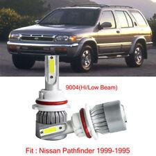 For Nissan Pathfinder 1999-1995 9004 HB1 LED Headlight Kit Bulbs High Low Beam