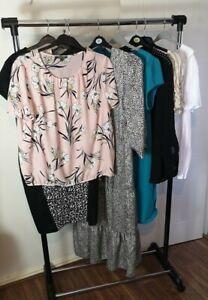 Womens Ladies Clothes Bundle Size 20 Blouse Midi Dress Shirt Top Tshirt X7